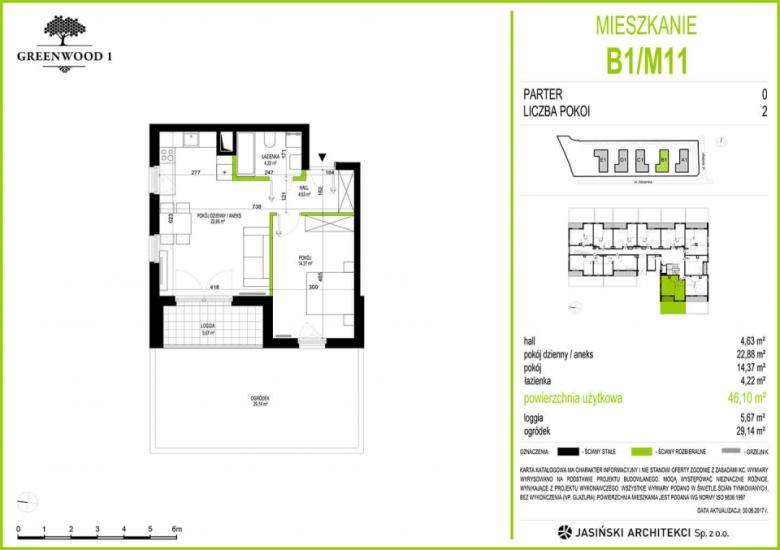Mieszkanie B1/M11