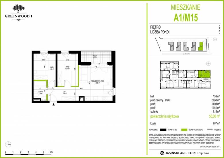 Mieszkanie A1/M15