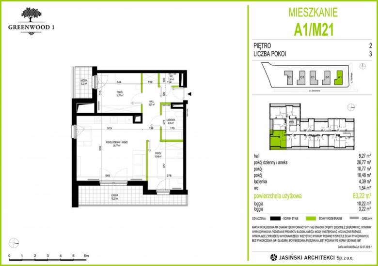 Mieszkanie A1/M21