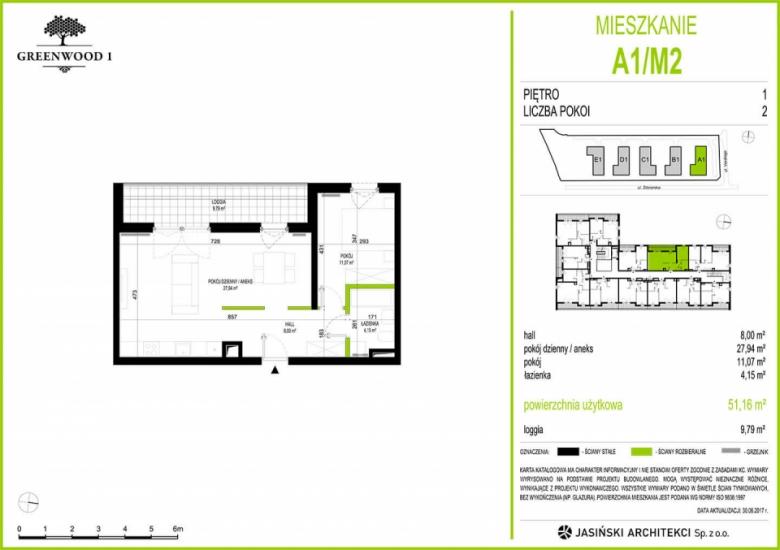Mieszkanie A1/M2