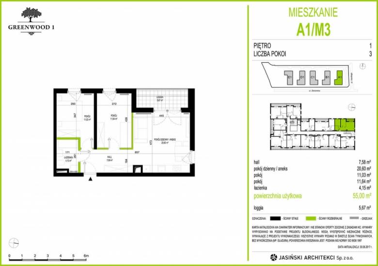 Mieszkanie A1/M3
