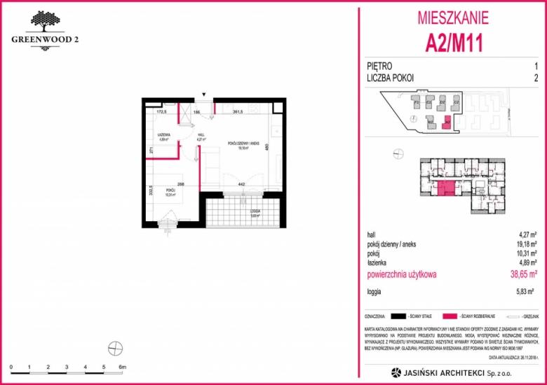 Mieszkanie A2/M11