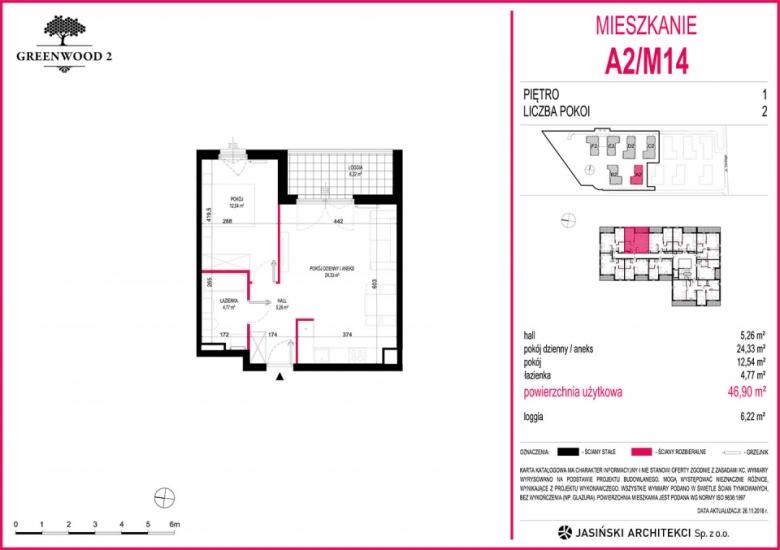 Mieszkanie A2/M14