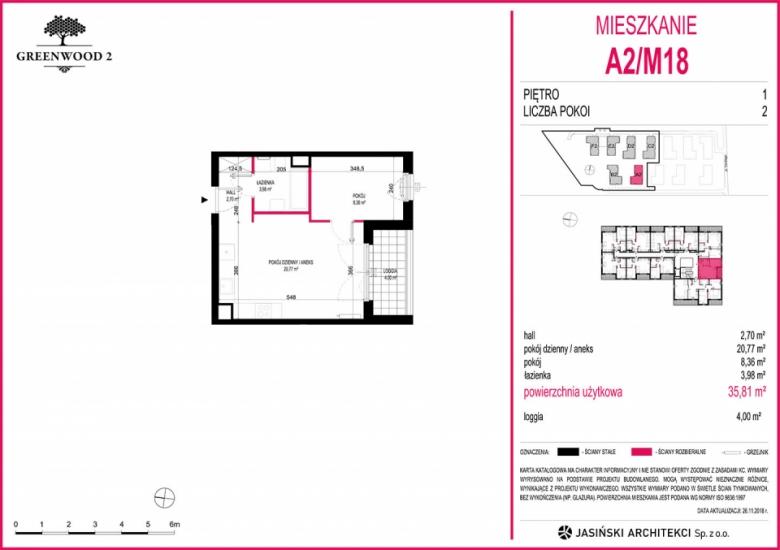 Mieszkanie A2/M18