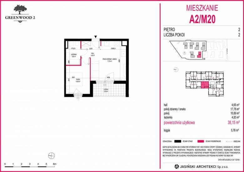 Mieszkanie A2/M20