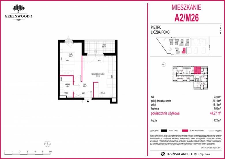 Mieszkanie A2/M26