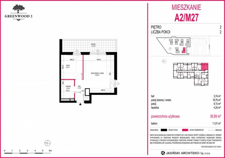 Mieszkanie A2/M27