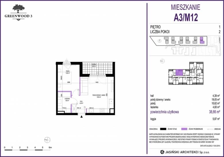 Mieszkanie A3/M12