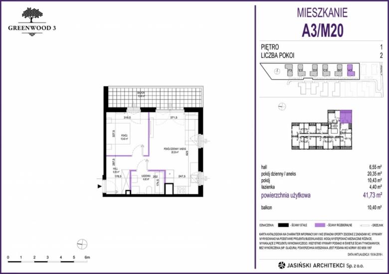 Mieszkanie A3/M20