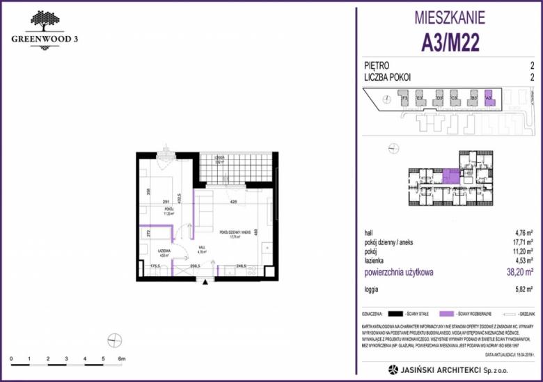 Mieszkanie A3/M22