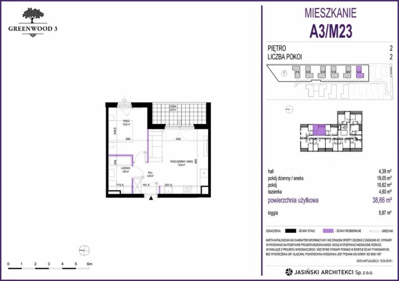Mieszkanie A3/M23