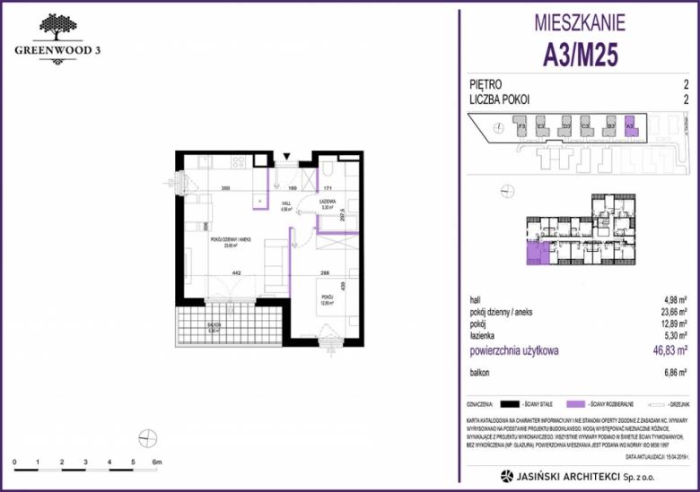 Mieszkanie A3/M25