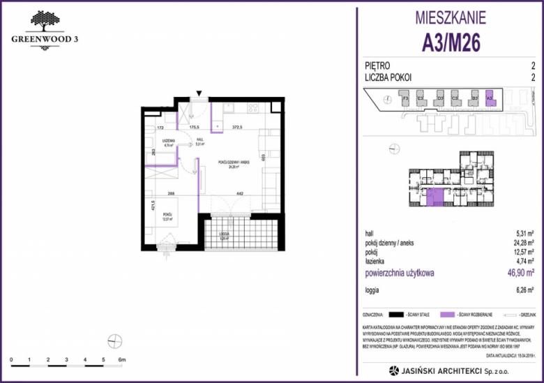 Mieszkanie A3/M26