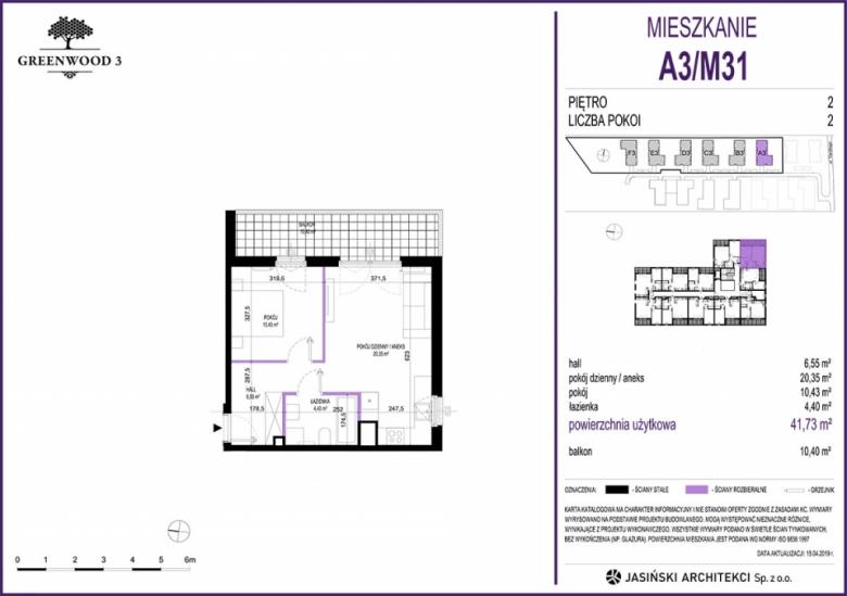 Mieszkanie A3/M31