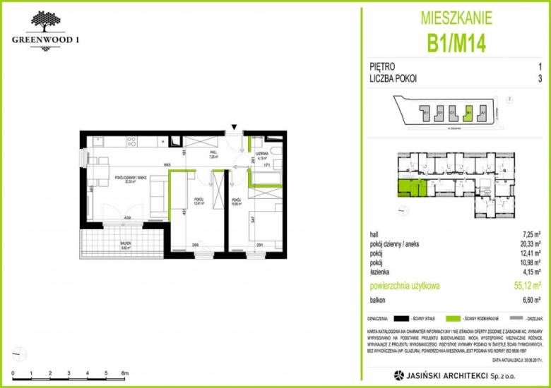 Mieszkanie B1/M14