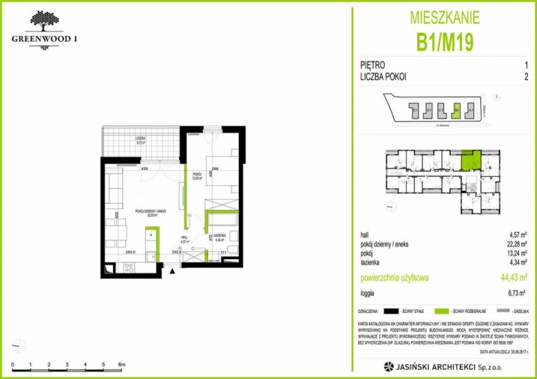 Mieszkanie B1/M19