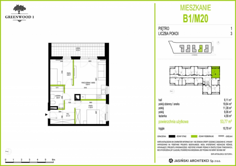 Mieszkanie B1/M20