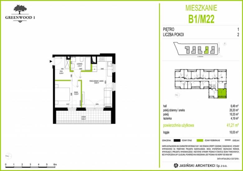 Mieszkanie B1/M22