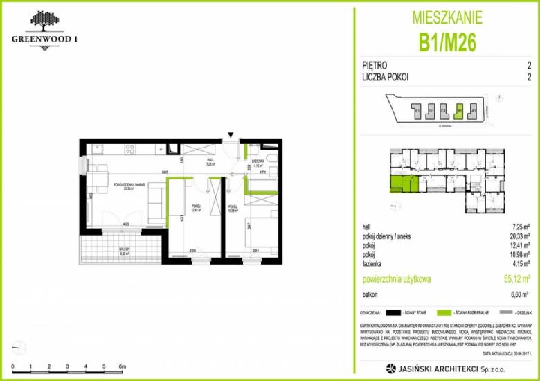 Mieszkanie B1/M26