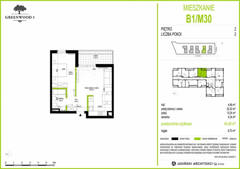 Mieszkanie B1/M30