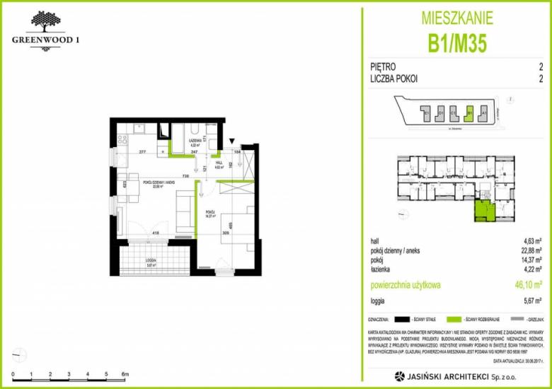 Mieszkanie B1/M35