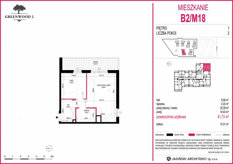 Mieszkanie B2/M18