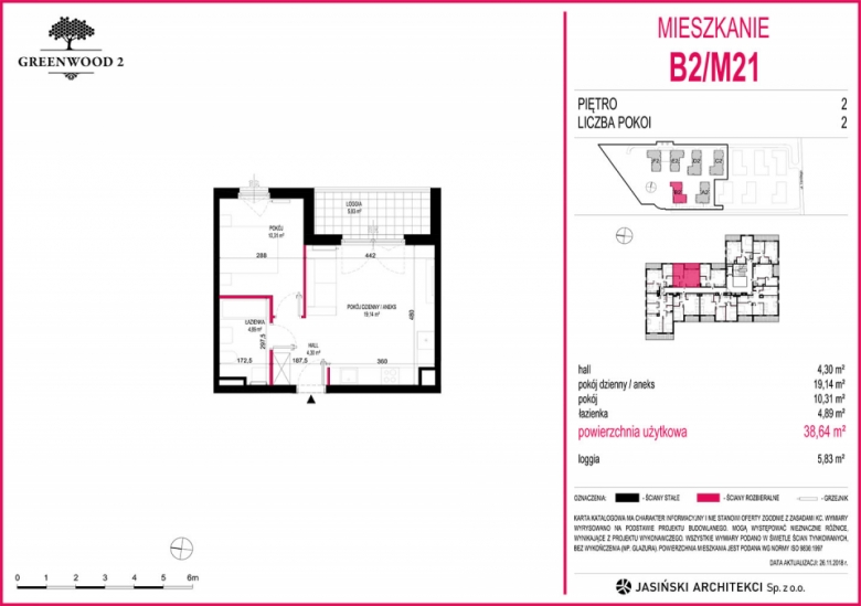Mieszkanie B2/M21