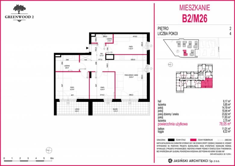 Mieszkanie B2/M26