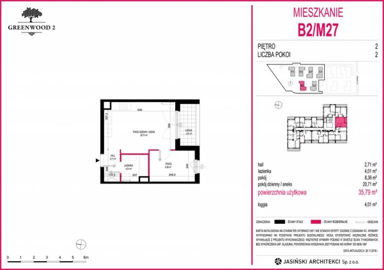 Mieszkanie B2/M27