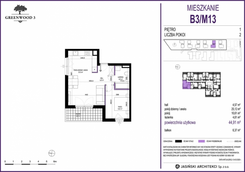 Mieszkanie B3/M13