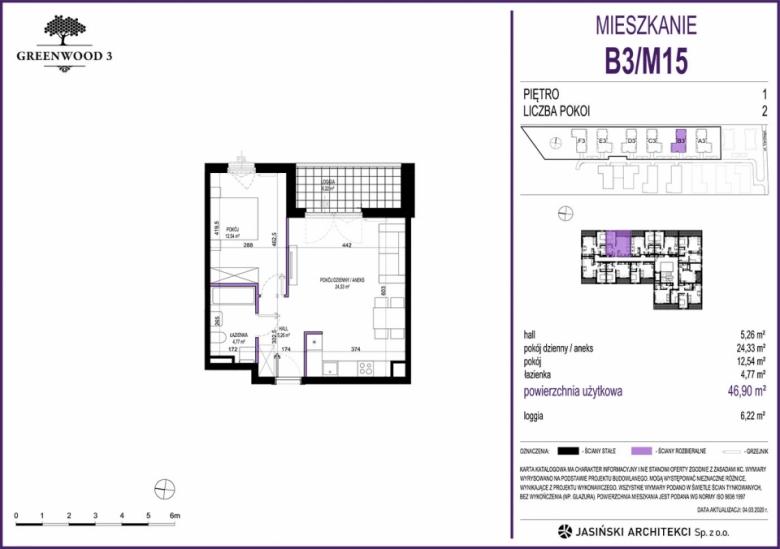 Mieszkanie B3/M15
