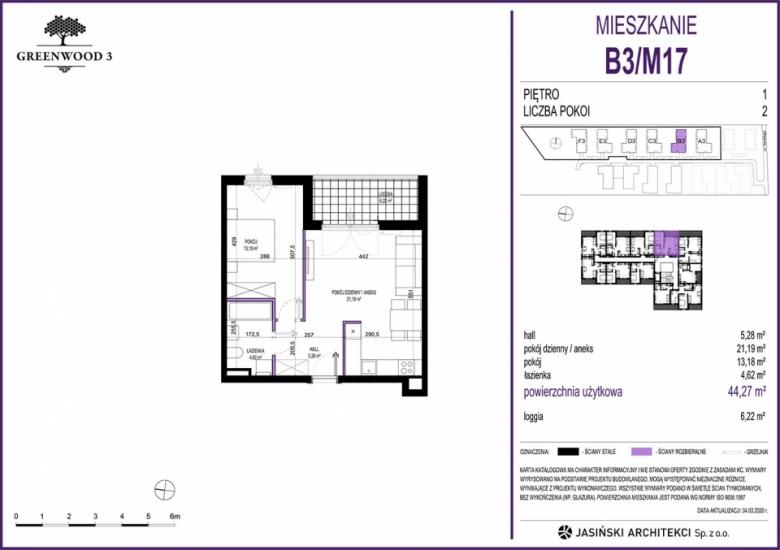 Mieszkanie B3/M17