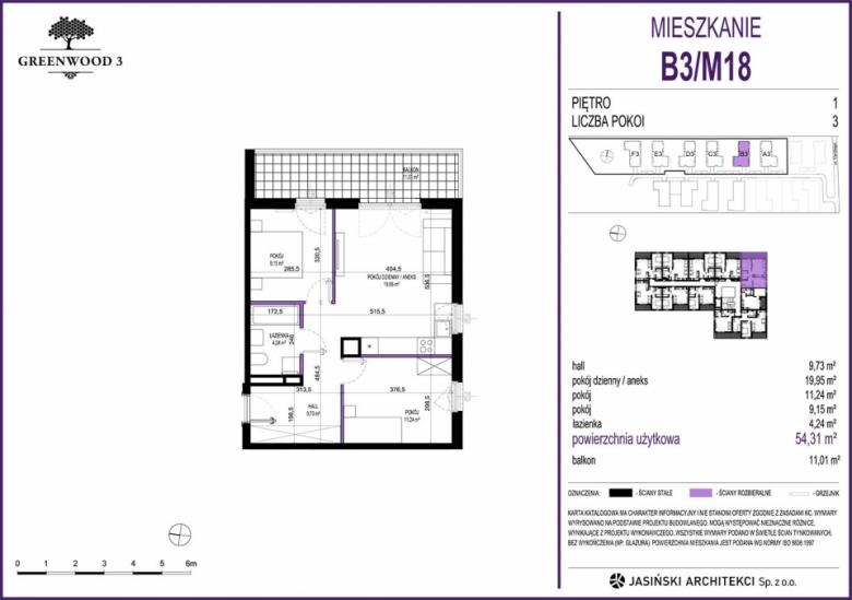 Mieszkanie B3/M18