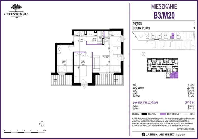 Mieszkanie B3/M20