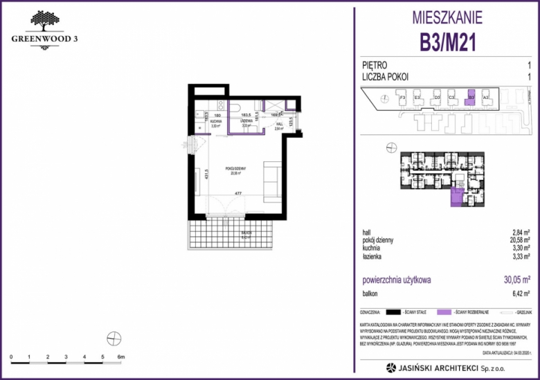 Mieszkanie B3/M21
