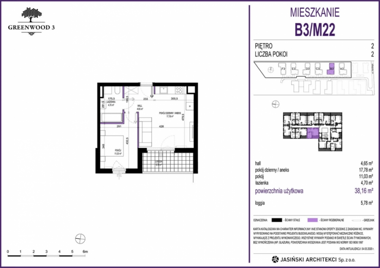 Mieszkanie B3/M22