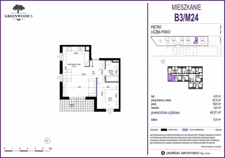 Mieszkanie B3/M24