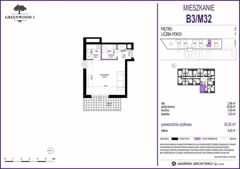 Mieszkanie B3/M32