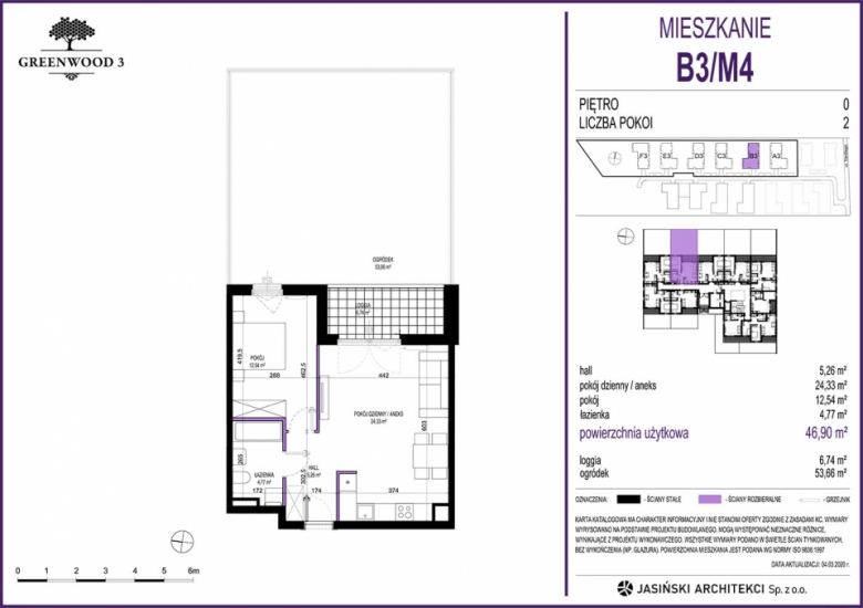 Mieszkanie B3/M4