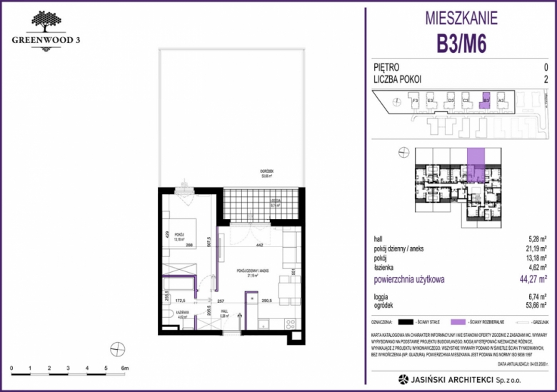 Mieszkanie B3/M6