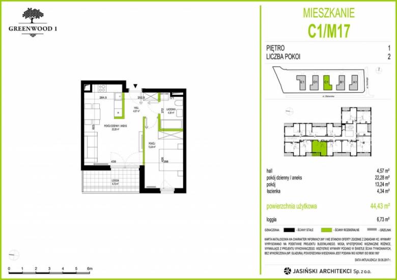 Mieszkanie C1/M17