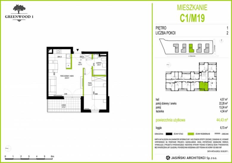 Mieszkanie C1/M19