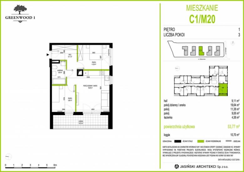 Mieszkanie C1/M20