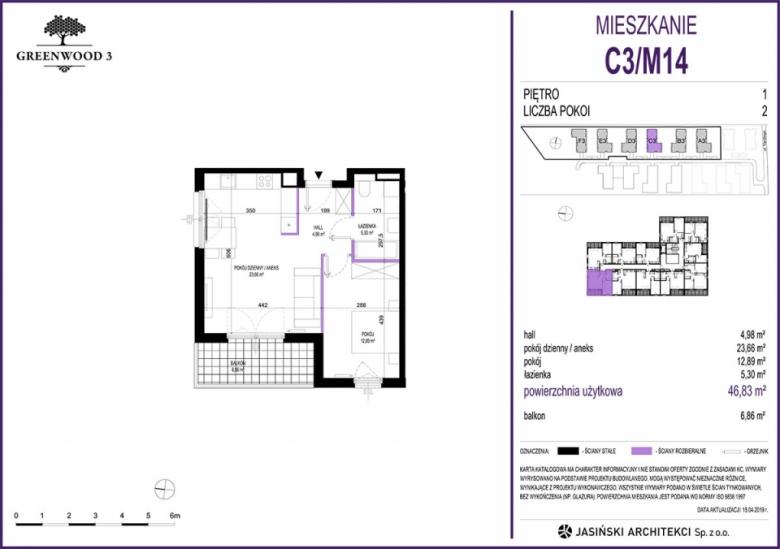 Mieszkanie C3/M14