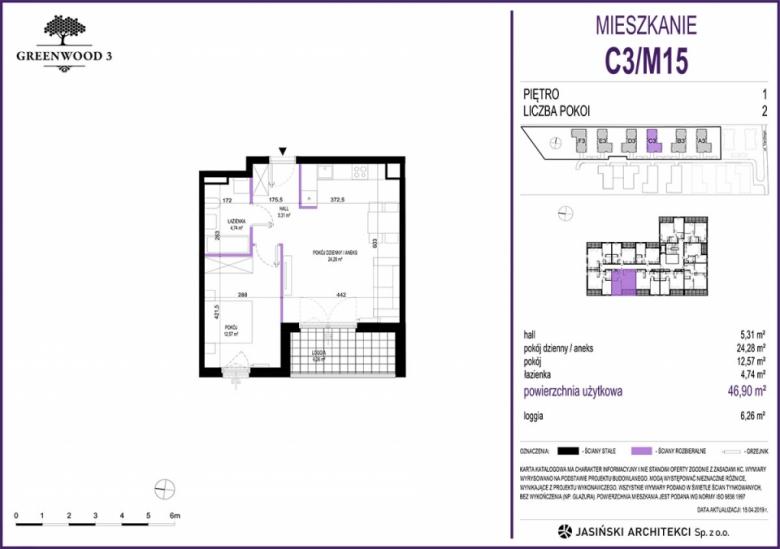 Mieszkanie C3/M15