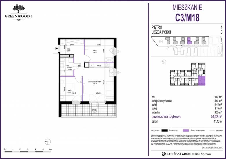 Mieszkanie C3/M18