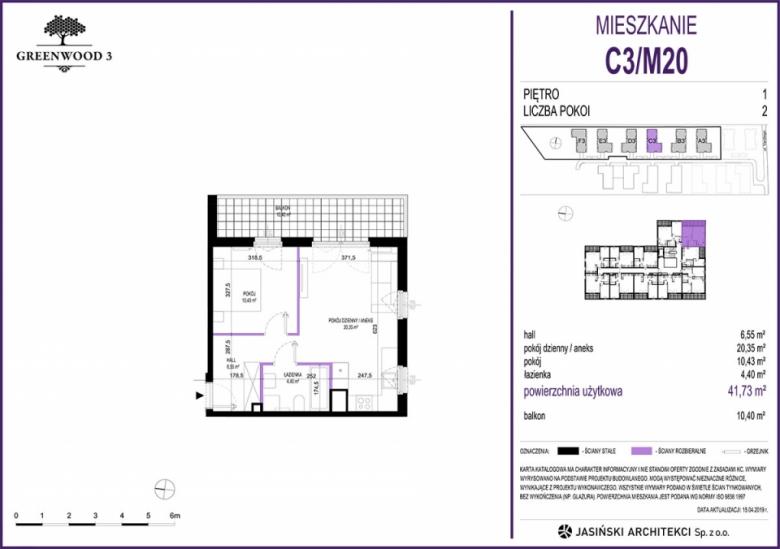 Mieszkanie C3/M20