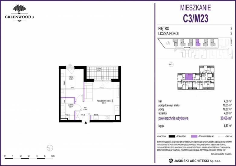 Mieszkanie C3/M23