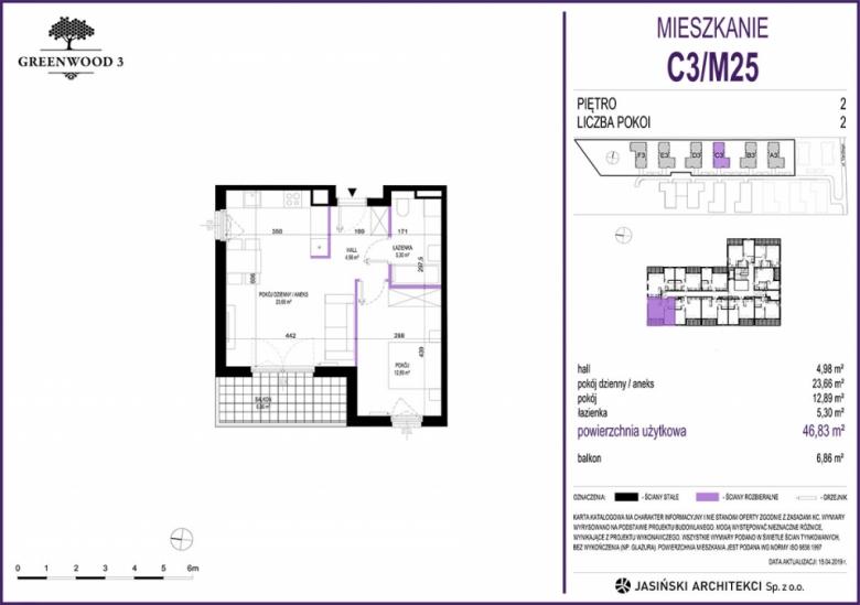 Mieszkanie C3/M25
