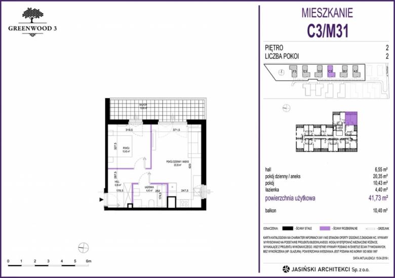 Mieszkanie C3/M31